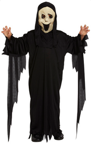 Boys Demon Ghost Fancy Dress Costume