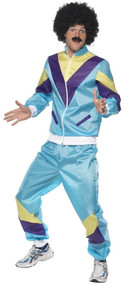 Mens 80s Shell Suit Fancy Dress Costume
