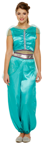 Ladies Arabian Fancy Dress Costume