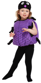 Child's Spider Fancy Dress Costume 2