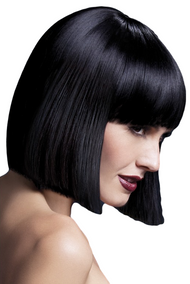 Ladies Professional Black Lola Bob Wig
