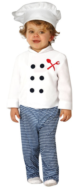 out of 5 stars - Kids Boys Girls Master Chef Cook Uniform Fancy Dress Up Book Week Costume Kit.