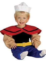 Baby Boys Sailor Fancy Dress Costume