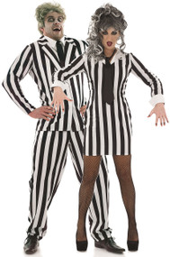 Couples Crazy Ghost Fancy Dress Costumes
