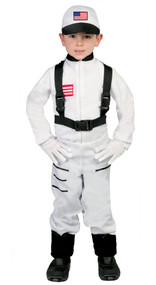 Boys American Astronaut Fancy Dress Costume