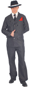 Mens 1920s Gangster Fancy Dress Costume