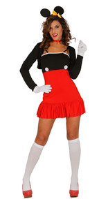 Ladies Sexy Mouse Fancy Dress Costume 2