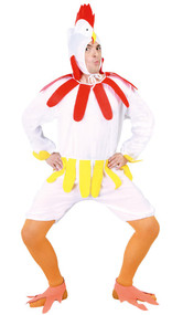 Adult Chicken Fancy Dress Costume