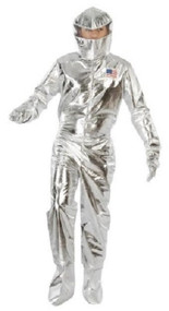 Mens Astronaut Fancy Dress Costume