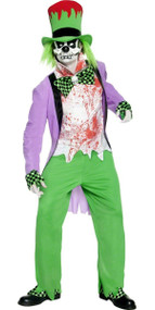 Mens Twisted Mad Hatter Fancy Dress Costume