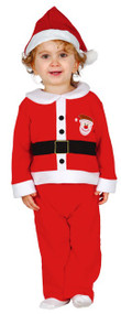 Baby Boys Father Christmas Fancy Dress Costume