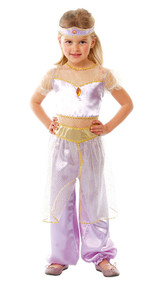 Girls Arabian Princess Fancy Dress Costume 3