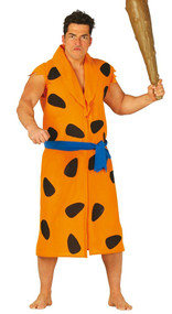Mens Big Caveman Fancy Dress Costume