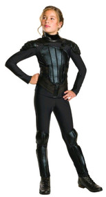 Girls Katniss Rebel Fancy Dress Costume