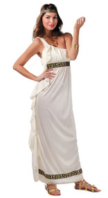 Ladies Olympian Goddess Fancy Dress Costume