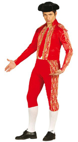 Mens Bull Fighter Fancy Dress Costume