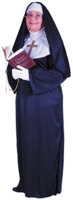 Ladies Mother Superior Fancy Dress Costume