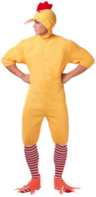 Adult Ducking Fancy Dress Costume