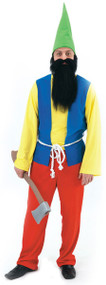 Mens Happy Gnome Fancy Dress Costume