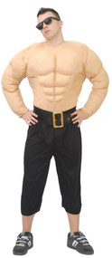 Mens Muscle Chest Fancy Dress Costume