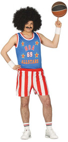 Mens Basketball Player Fancy Dress Costume
