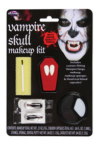 Adult Vampire Skull Make Up Kit