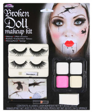 Ladies Broken Doll Make Up Kit