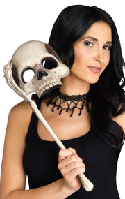 Ladies Skull Fancy Dress Mask