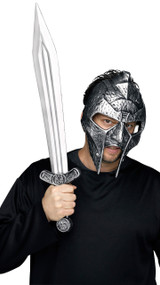 Adult Gladiator Mask & Sword Set