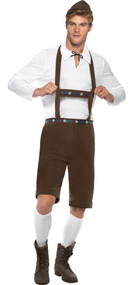 Mens Brown Oktoberfest Fancy Dress Costume