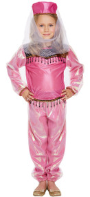 Girls Bollywood Fancy Dress Costume