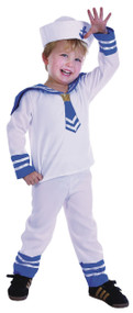 Toddler Boys Sailor Fancy Dress Costume