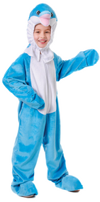Child's Dolphin Fancy Dress Costume