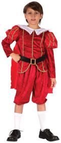 Boys Tudor Prince Fancy Dress Costume
