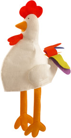 Adult Chicken Fancy Dress Hat