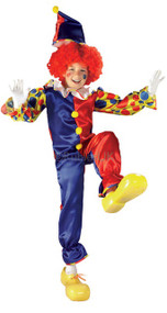 Child's Bubbles the Clown Fancy Dress Costume