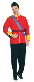 Mens Royal Prince Fancy Dress Costume 2