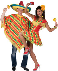 Couples Mexican Fancy Dress Costumes