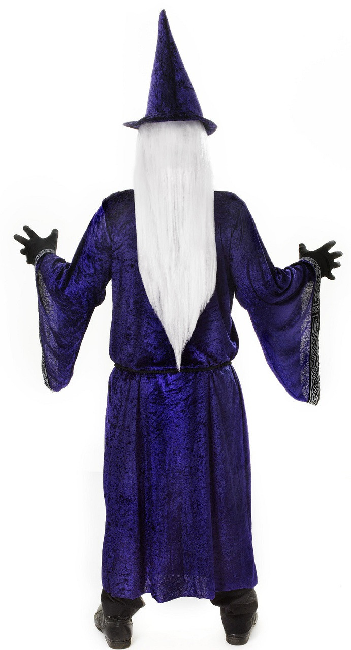 Mens Wizard Fancy Dress Costume - Fancy Me Limited