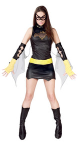 Ladies Bat Fancy Dress Costume