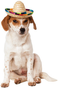 Dog Sombrero Fancy Dress Hat