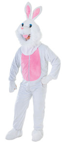 Adult White Rabbit Fancy Dress Costume