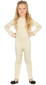 Child's Nude Bodysuit Fancy Dress