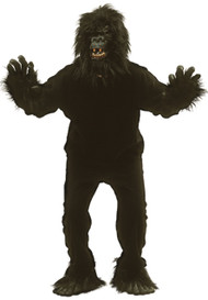 Adult Gorilla Fancy Dress Costume