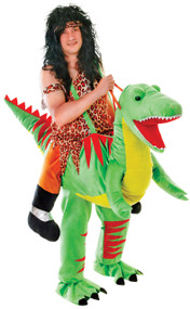 Adult Step in Dinosaur Fancy Dress Costume