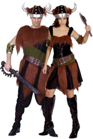 Couples Viking Fancy Dress Costumes