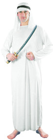 Mens Arab Sheik Fancy Dress Costume