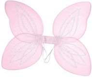 Ladies Pink Angel Wings