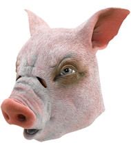 Adult Pig Fancy Dress Mask