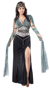 Ladies Dark Medusa Fancy Dress Costume